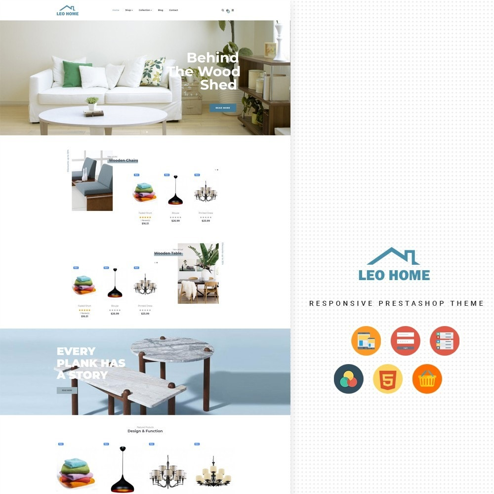 theme - Casa & Jardins - Leo Home - 1