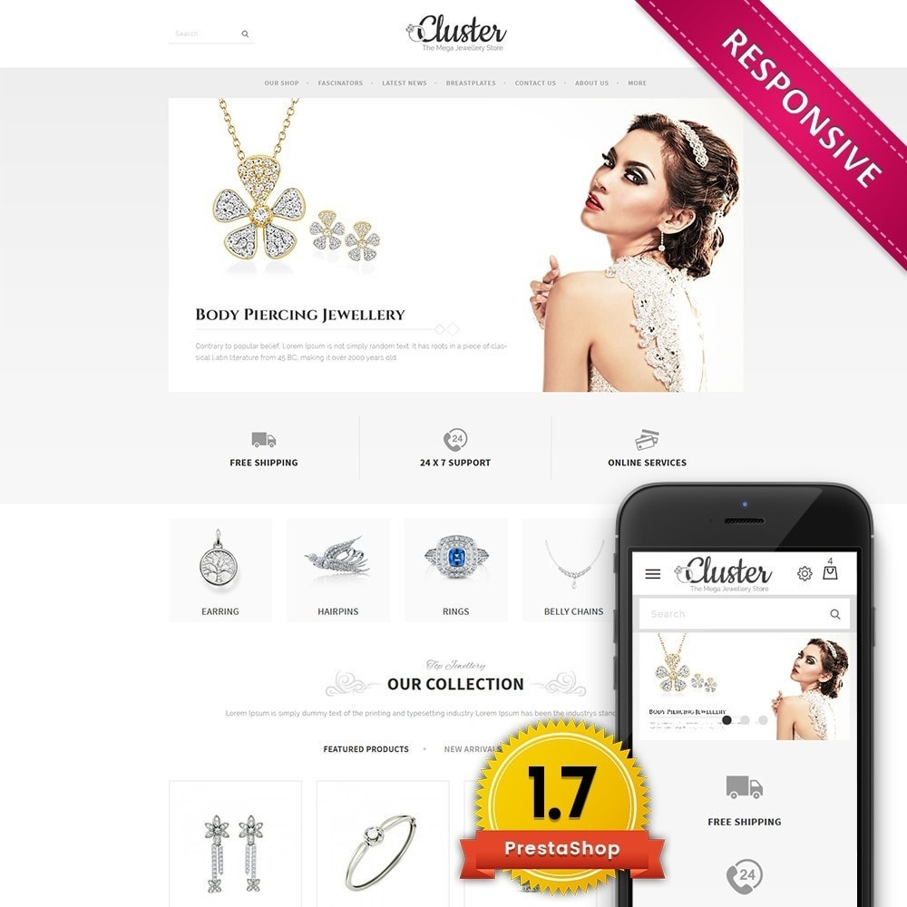 theme - Bijoux & Accessoires - Cluster Jewellery Store - 1