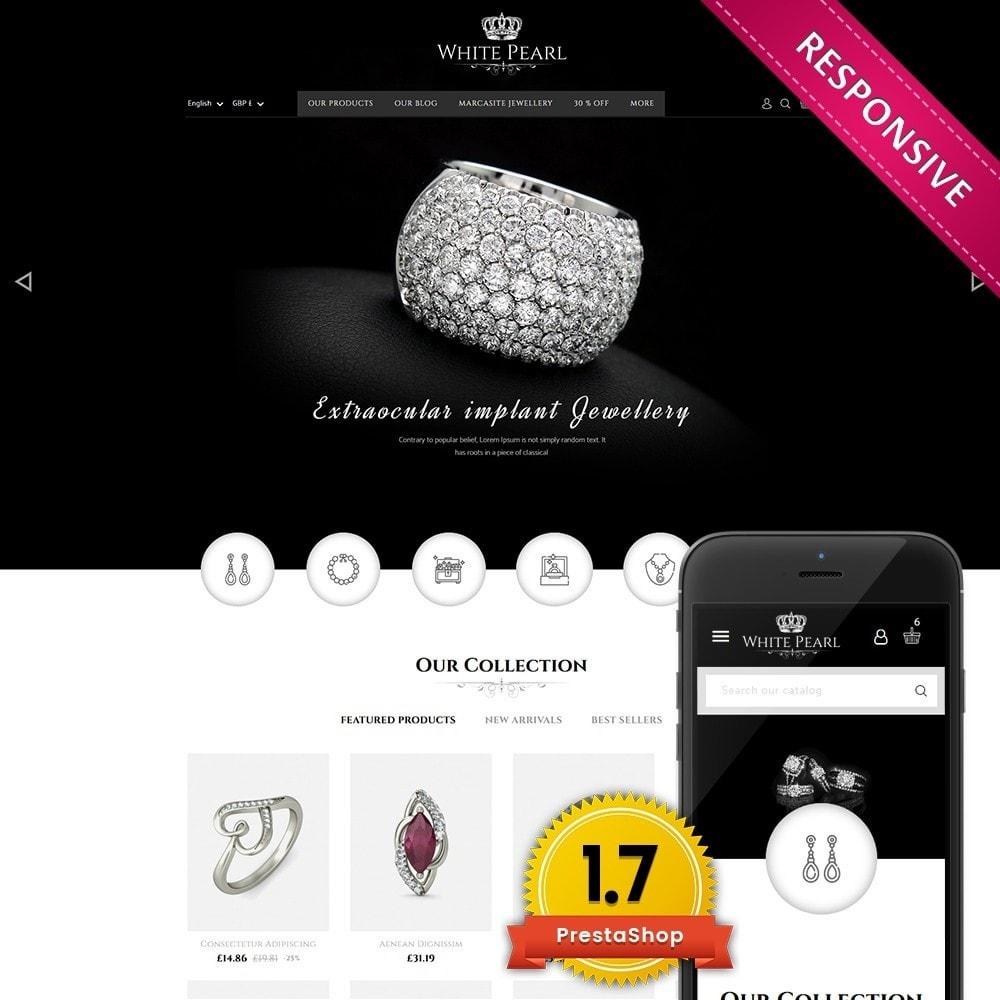 theme - Schmuck & Accesoires - White pearl Jewellery Shop - 1