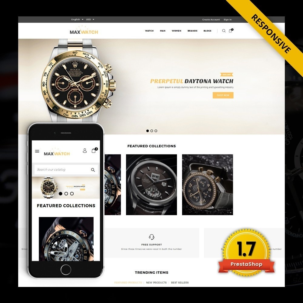 theme - Regali, Fiori & Feste - MaxWatch - Watch store - 1