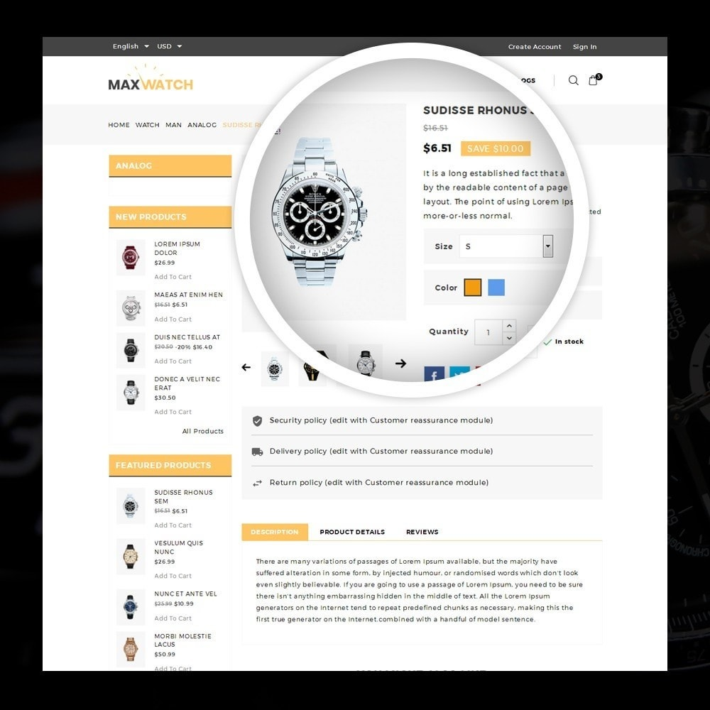 theme - Regali, Fiori & Feste - MaxWatch - Watch store - 4