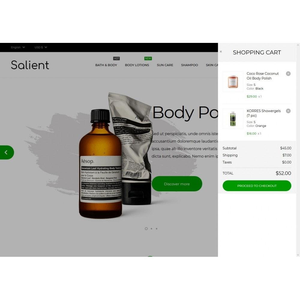theme - Здоровье и красота - Salient Cosmetics - 7