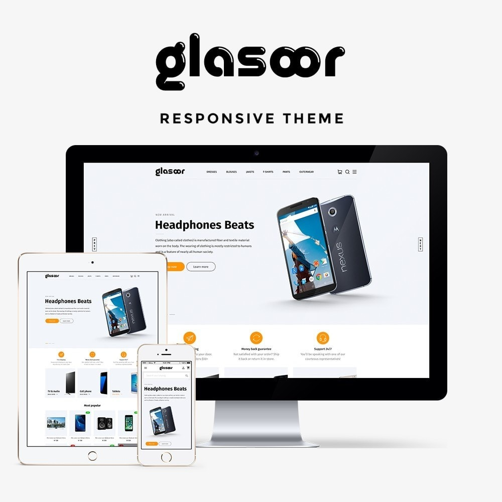 theme - Elettronica & High Tech - Glasoor - High-tech Shop - 1