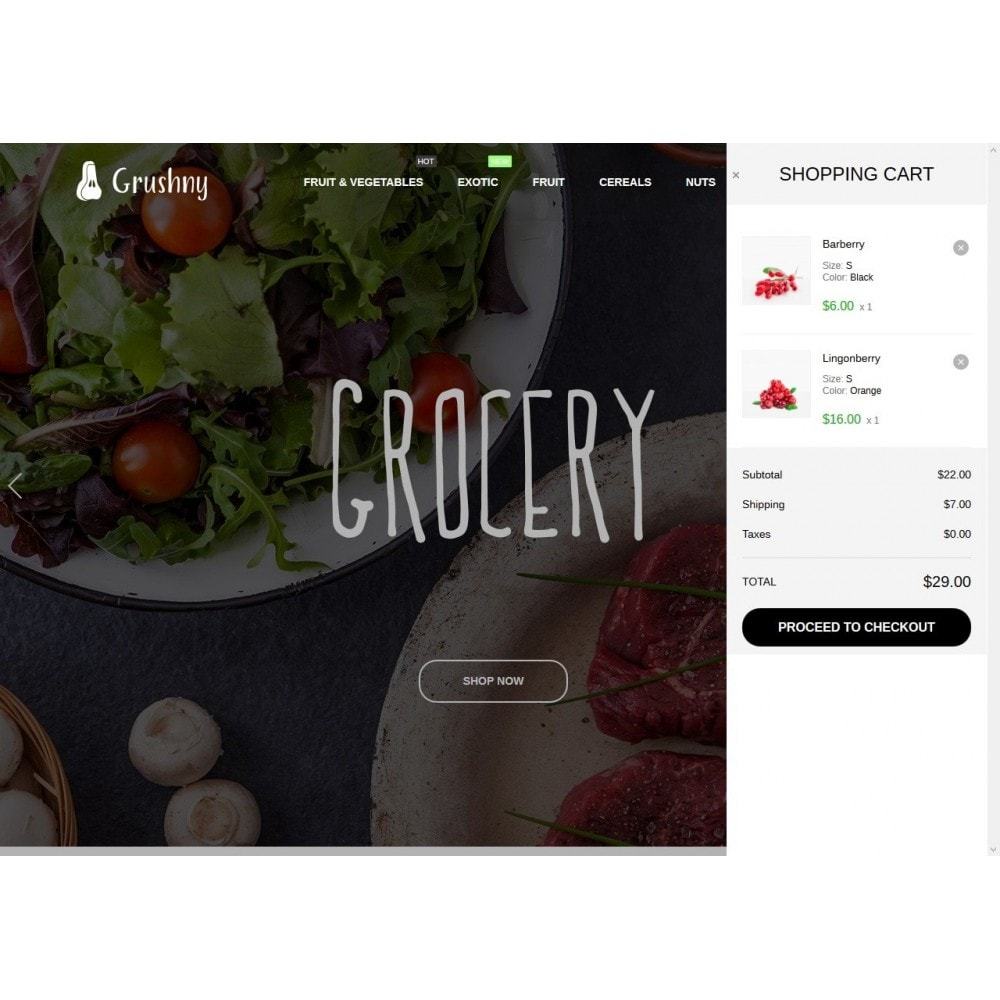 theme - Alimentos & Restaurantes - Grushny - 7