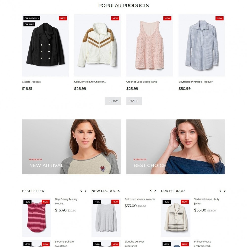 theme - Мода и обувь - Almandine Fashion Store - 4