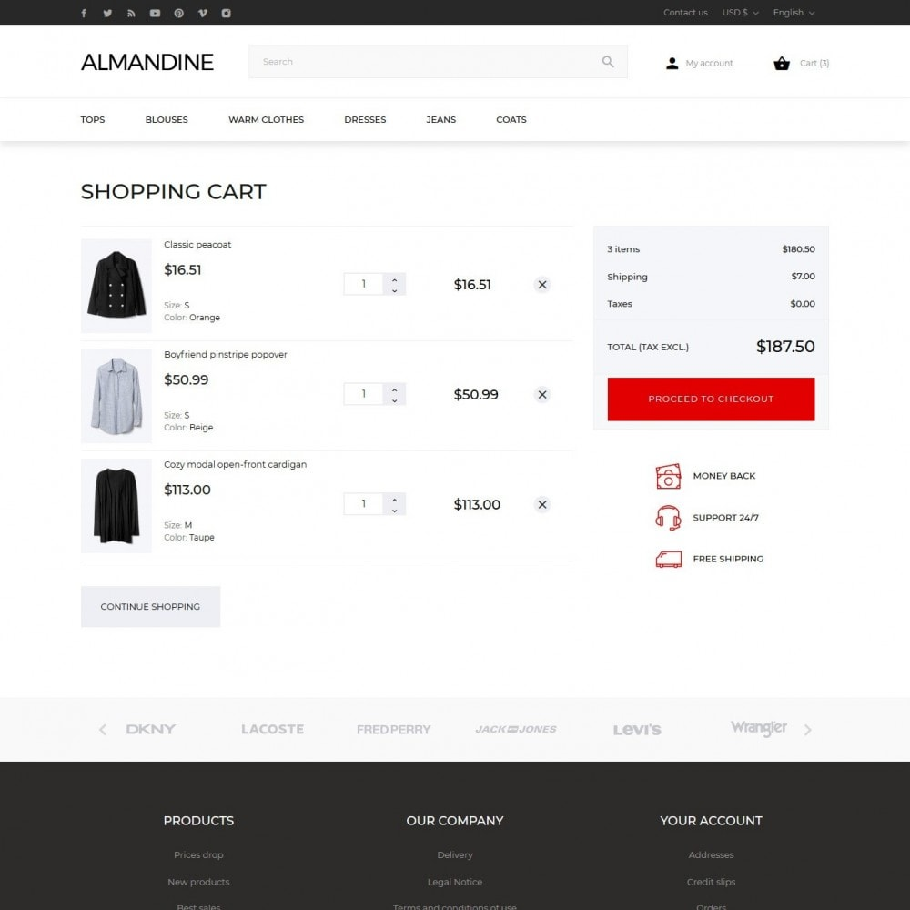 theme - Mode & Chaussures - Almandine Fashion Store - 10