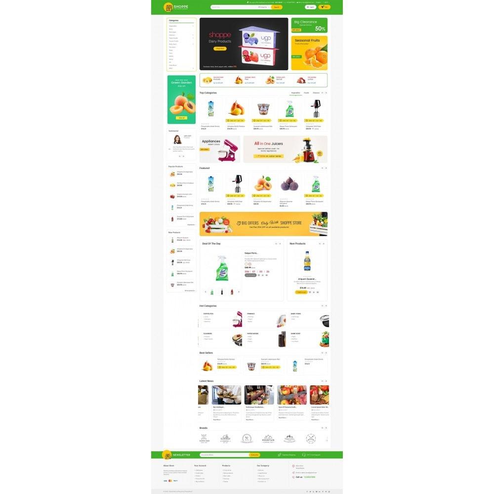 theme - Alimentos & Restaurantes - Mega Shoppe Grocery - 2