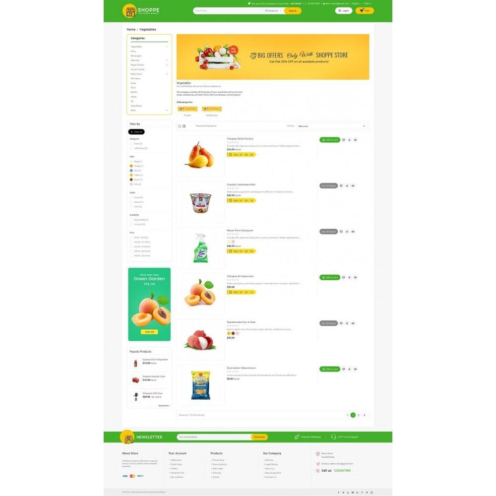 theme - Alimentos & Restaurantes - Mega Shoppe Grocery - 4