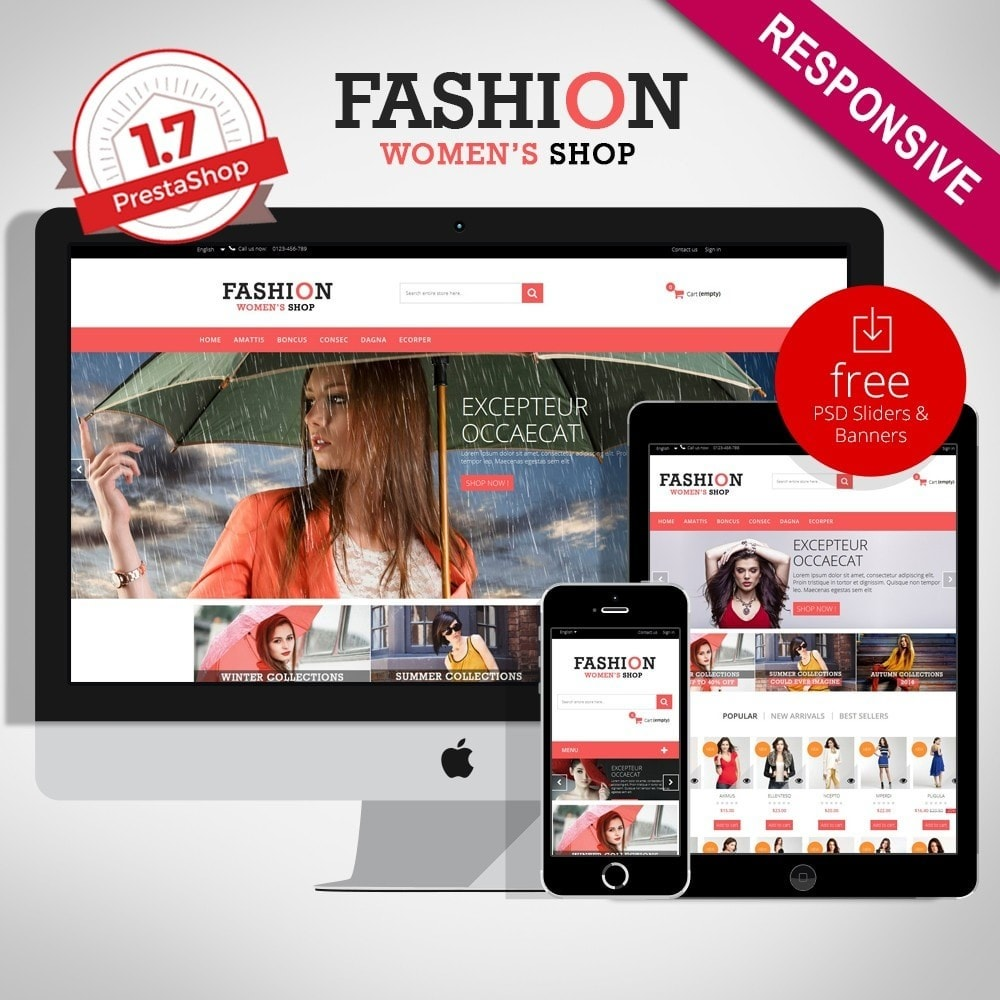 theme - Fashion & Shoes - Fashion Multipurpose HTML5 - 1