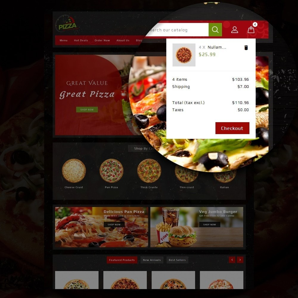 theme - Food & Restaurant - Pizza Store - 8