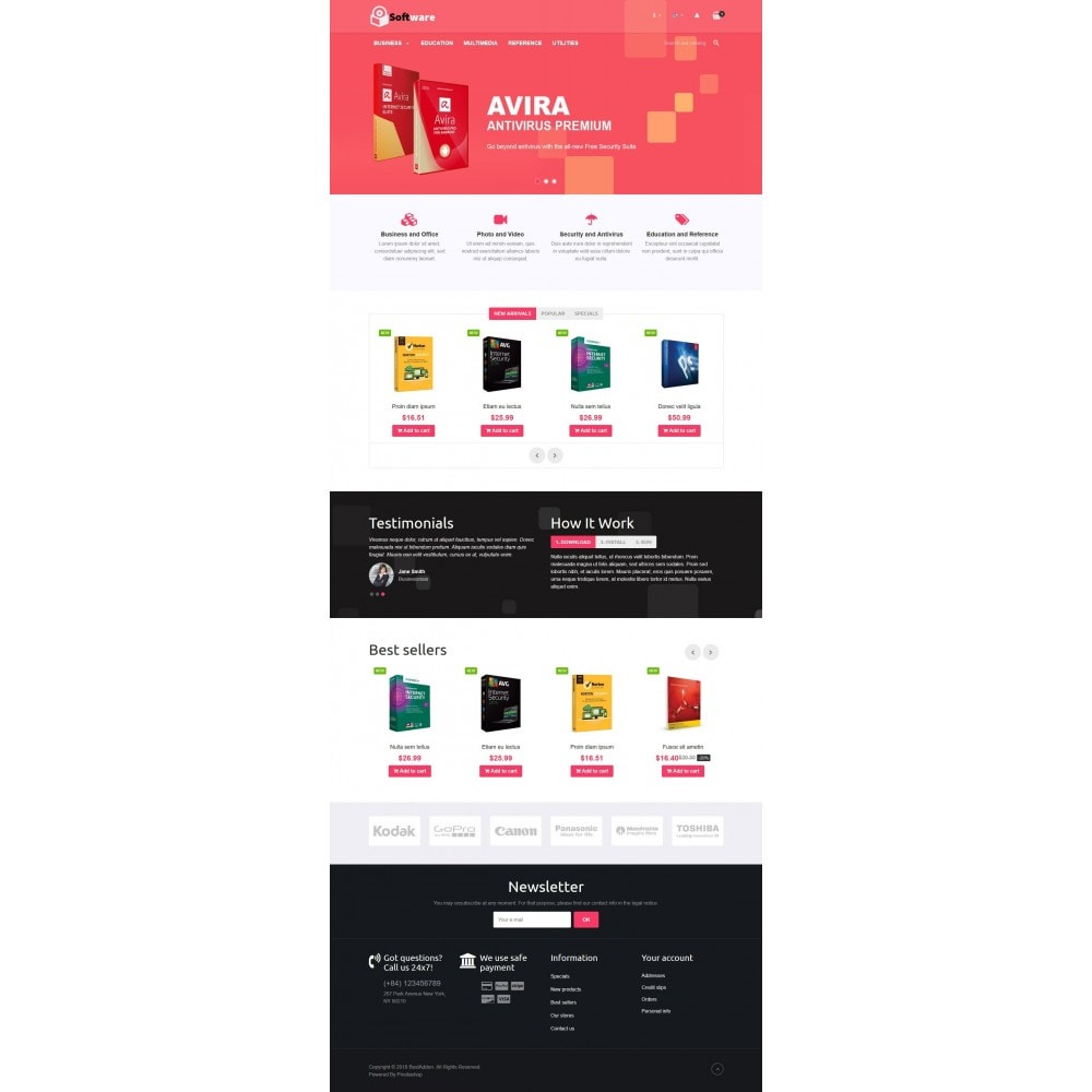 theme - Elektronika & High Tech - VP_Software Store - 2