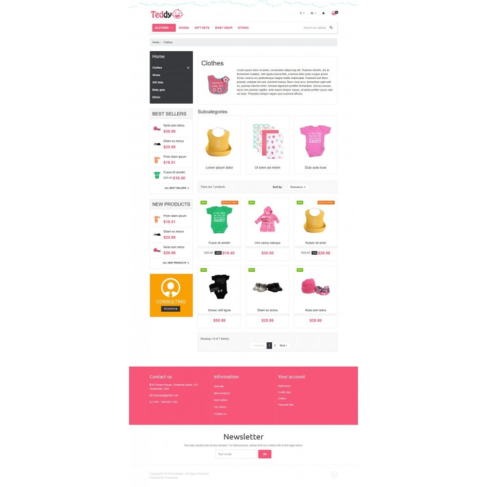 theme - Enfants & Jouets - VP_Teddy Store - 3