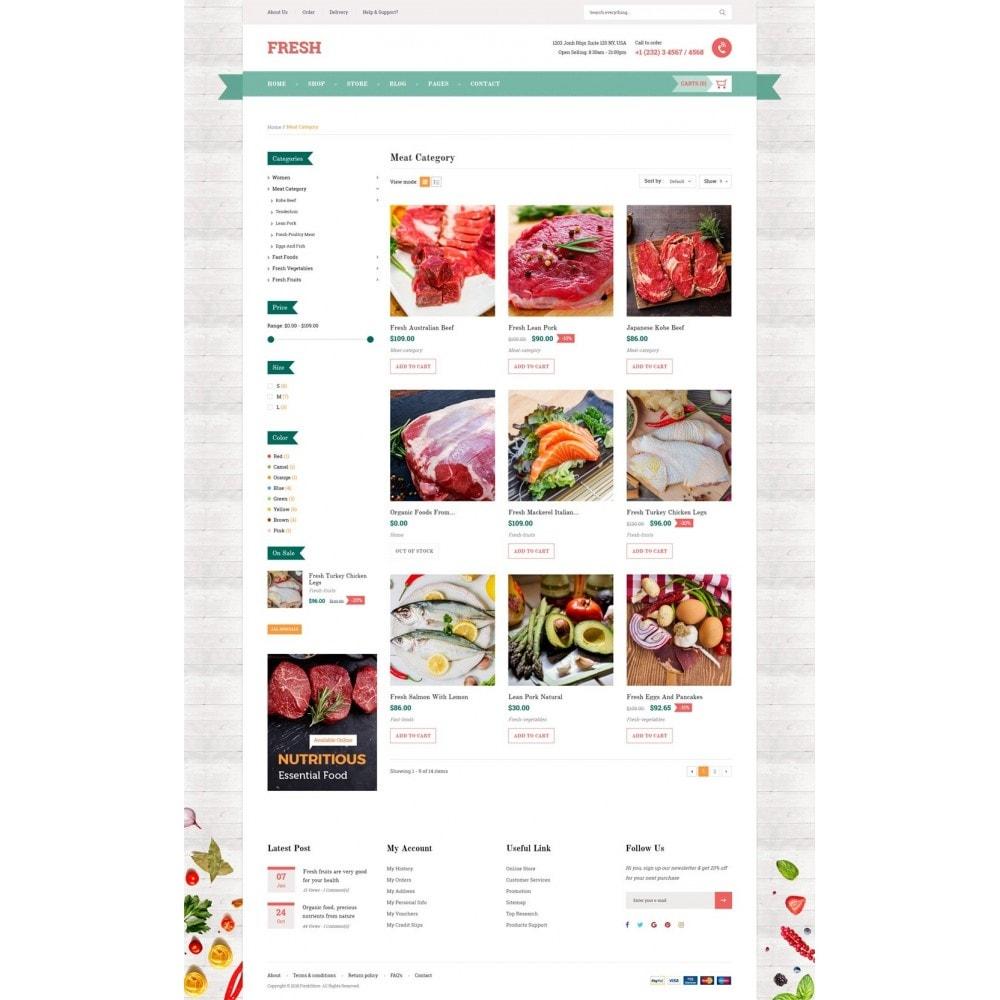 theme - Food & Restaurant - Fresh Store - 9