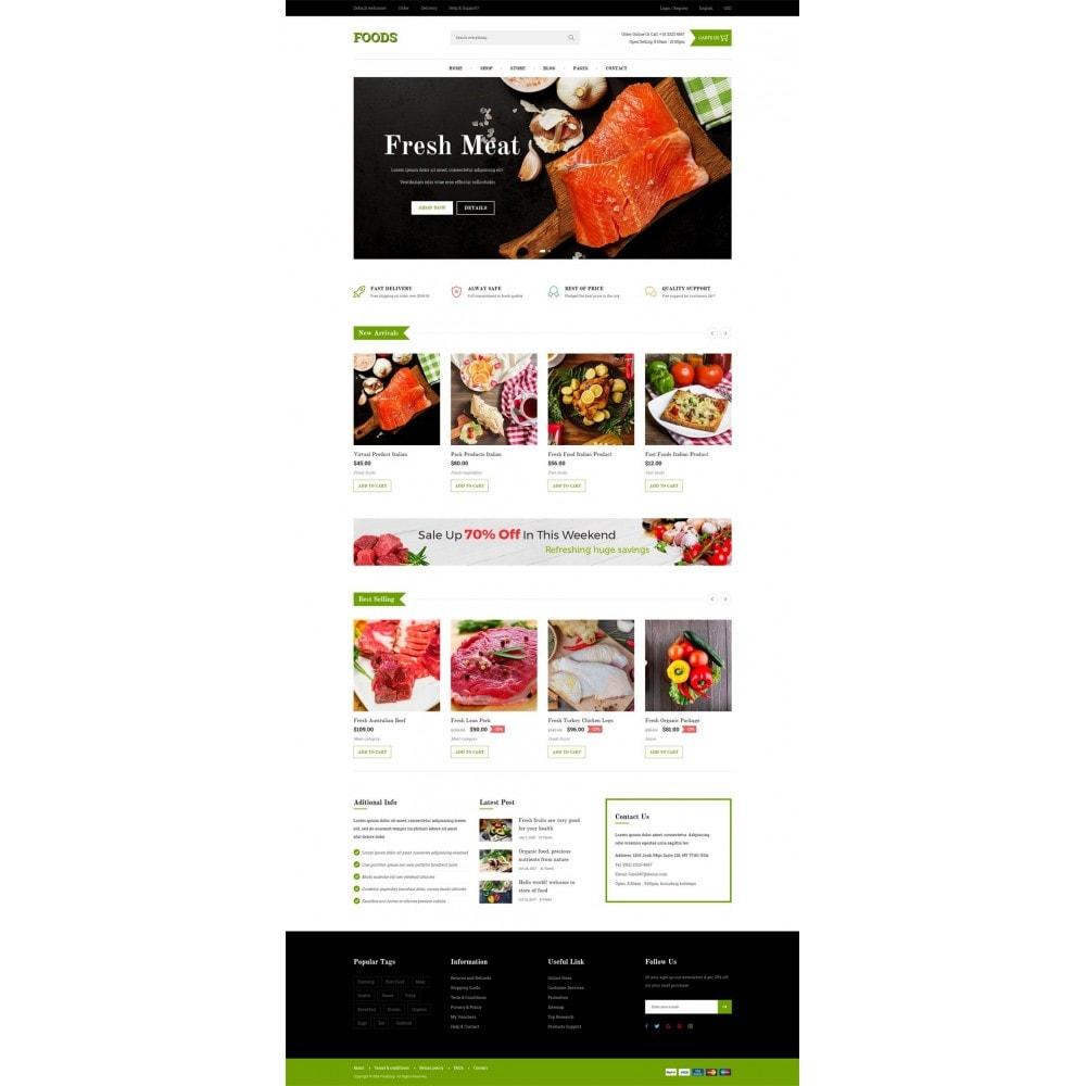 theme - Продовольствие и рестораны - Food Shop - 6