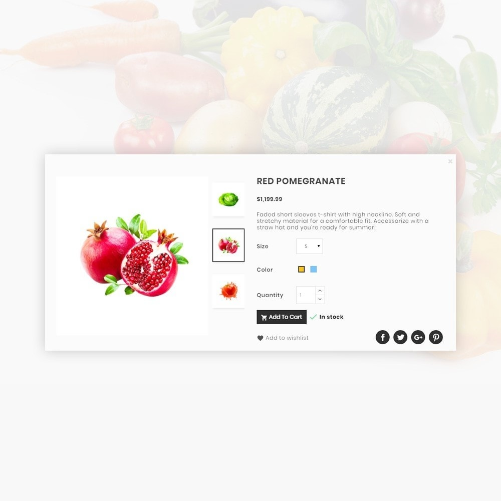 theme - Food & Restaurant - Orangic – Fresh Green Foods Super Store - 14