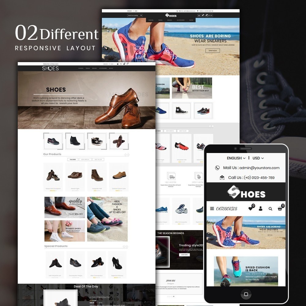theme - Moda & Obuwie - Shoes Shop - 1