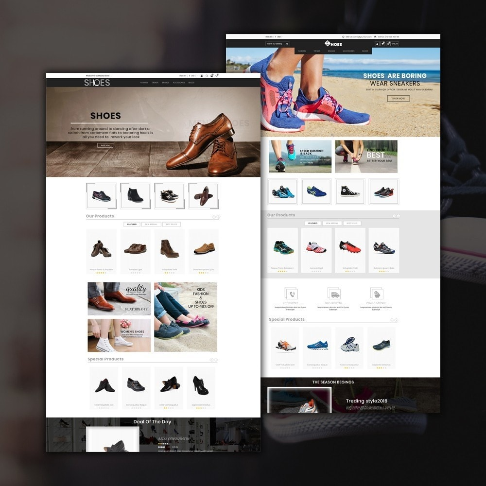 theme - Mode & Chaussures - Shoes Shop - 2