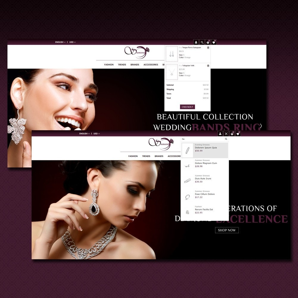 theme - Sieraden & Accessoires - Diamond Jewellery Shop - 5
