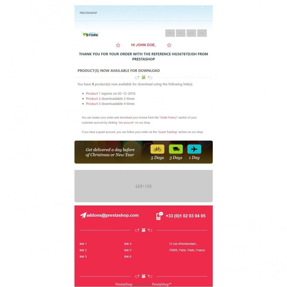 email - Email templates PrestaShop - Lingerie Multipurpose Mail - 5