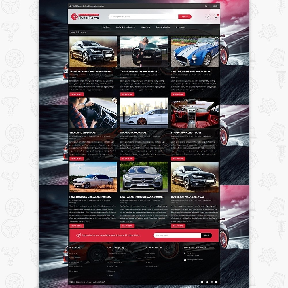 theme - Coches y Motos - Auto Store - 6