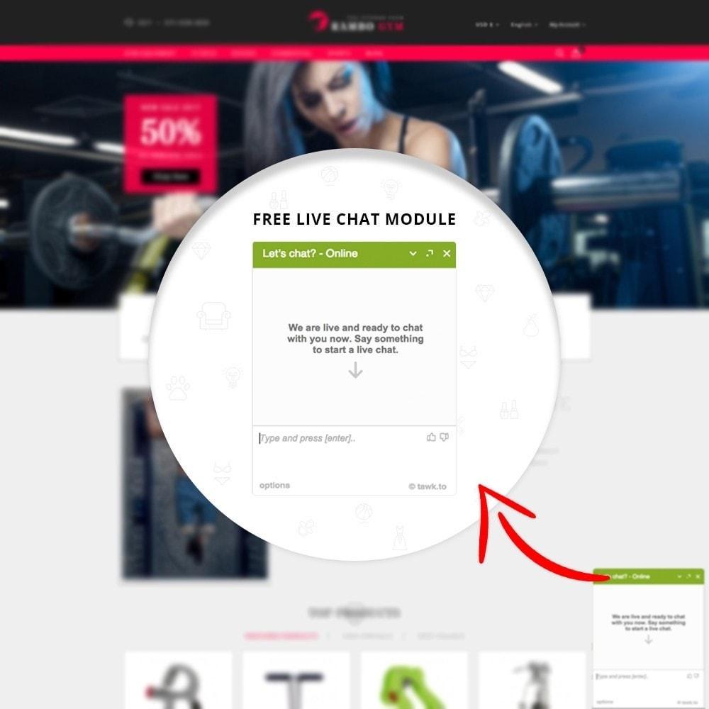 theme - Здоровье и красота - Rambo Gym - Fitness - 6