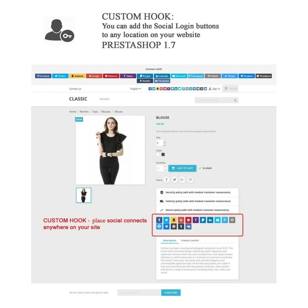 bundle - Boutons Login & Connect - Blog PRO, Social Connexions, Product Avis - 17