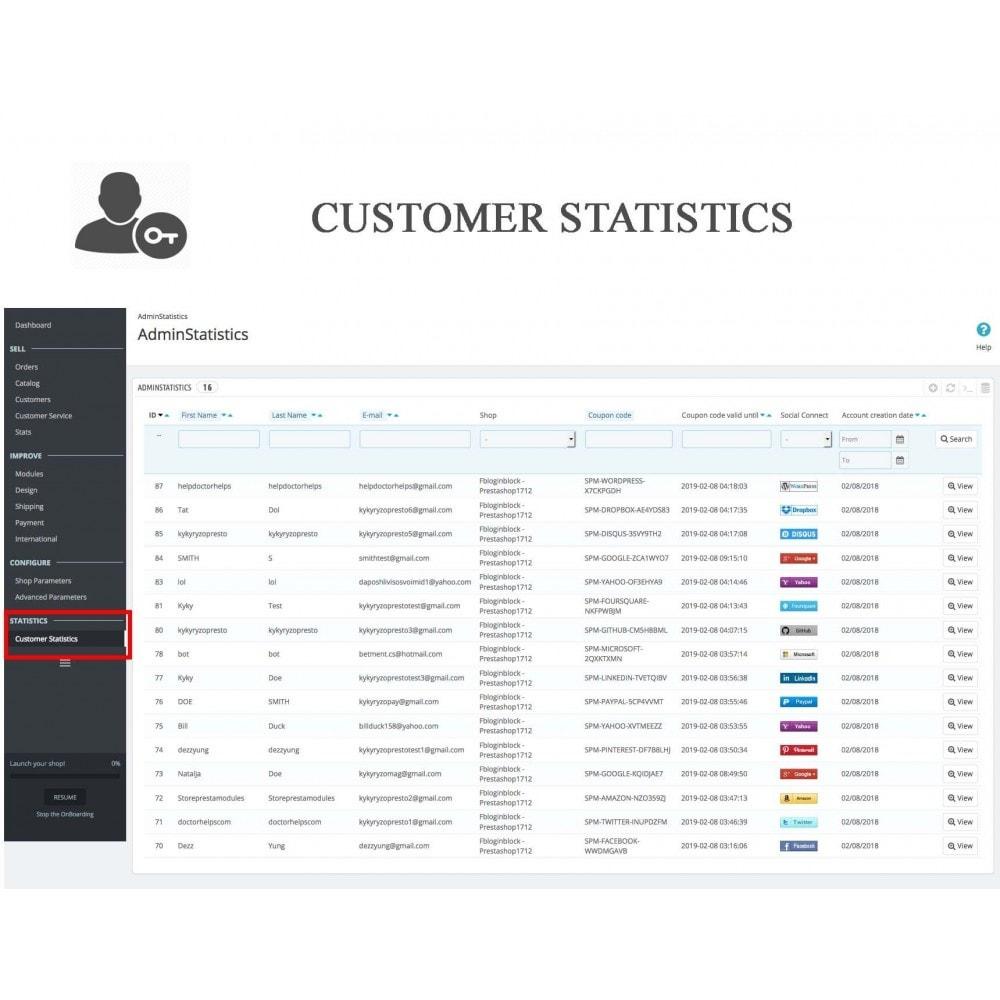 bundle - Boutons Login & Connect - Blog PRO, Social Connexions, Product Avis - 21