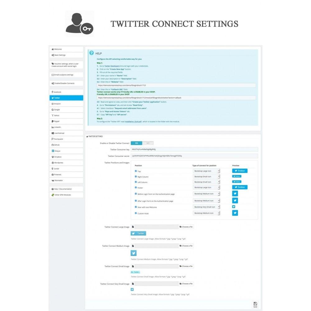 bundle - Boutons Login & Connect - Blog PRO, Social Connexions, Product Avis - 27