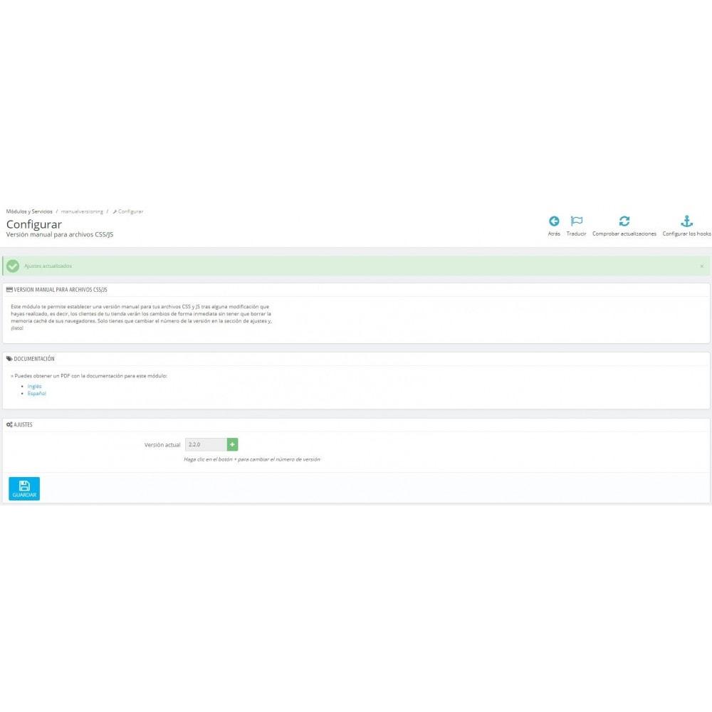 module - Rendimiento del sitio web - Regenerador de Cache en navegadores - 1