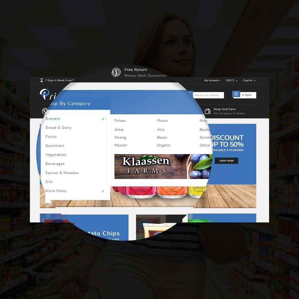 theme - Food & Restaurant - Prime Grocery Store - 9