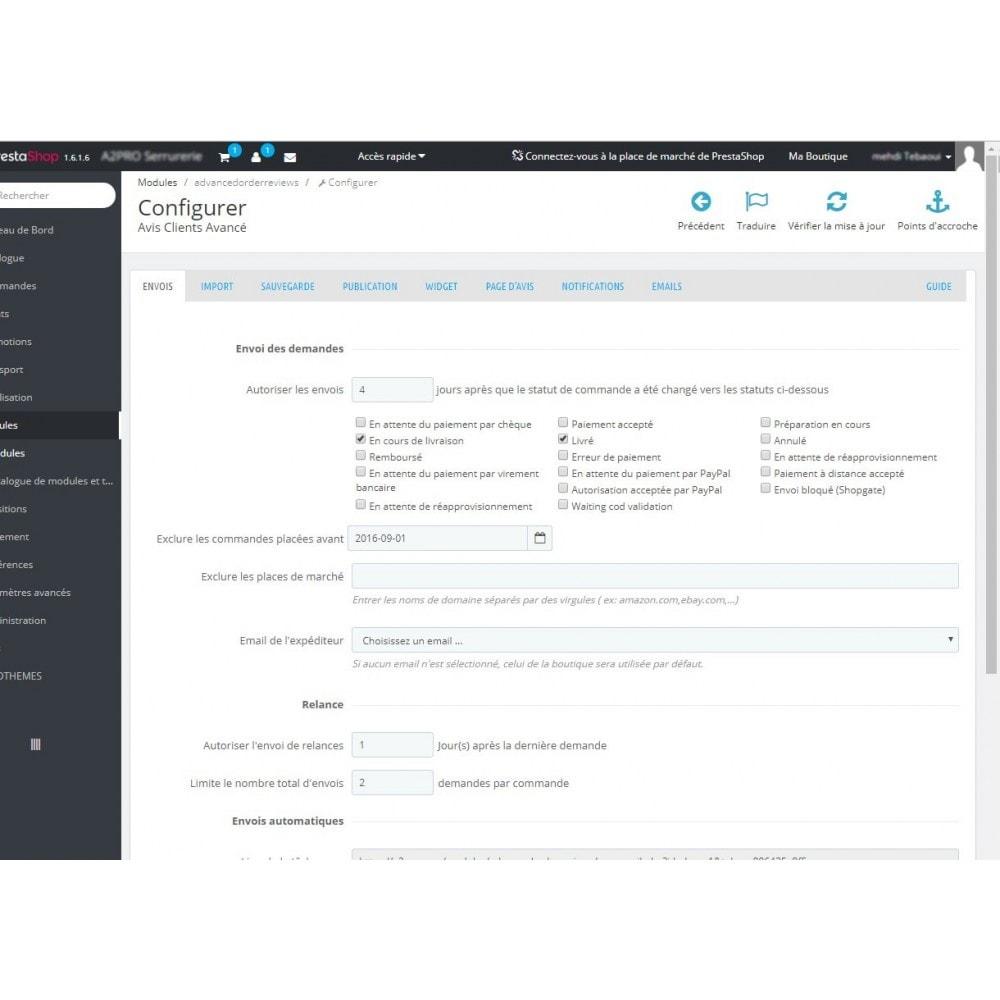 module - Avis clients - Avis Clients Avancé - 6