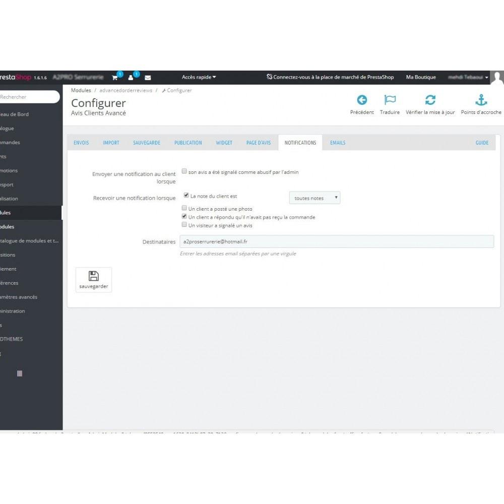 module - Avis clients - Avis Clients Avancé - 7