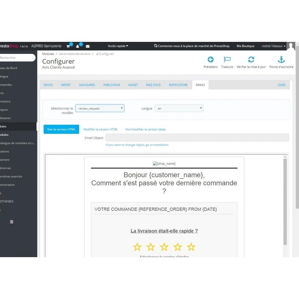 module - Avis clients - Avis Clients Avancé - 11