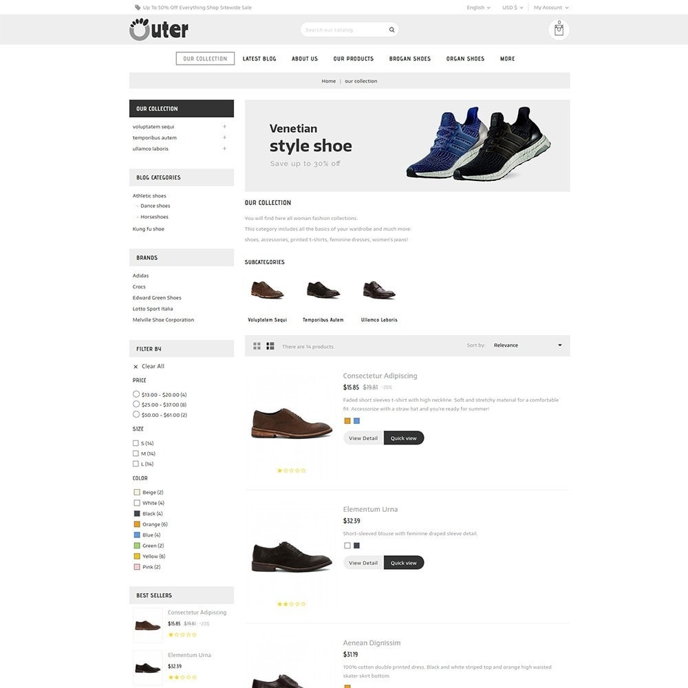 theme - Moda & Calçados - Outer - The Shoe Shop - 5