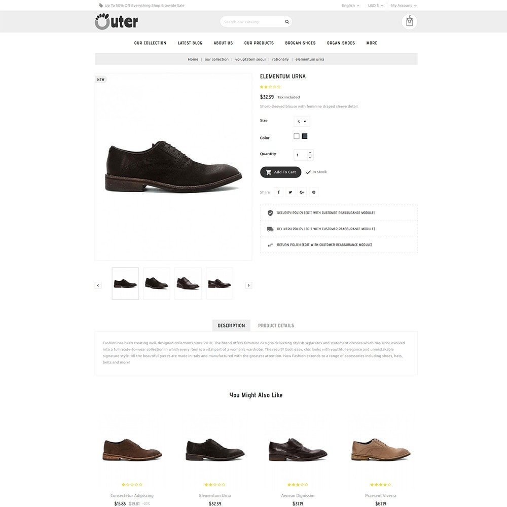 theme - Mode & Schuhe - Outer - The Shoe Shop - 6