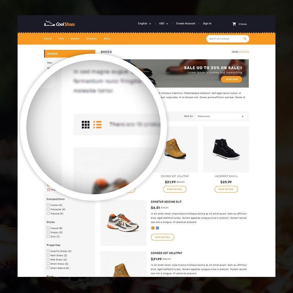 theme - Mode & Schoenen - Coolshoes - Shoes store - 3