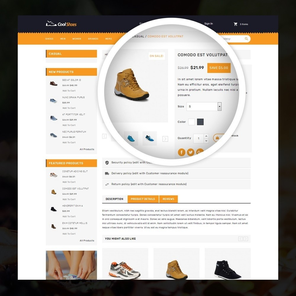 theme - Mode & Schoenen - Coolshoes - Shoes store - 4