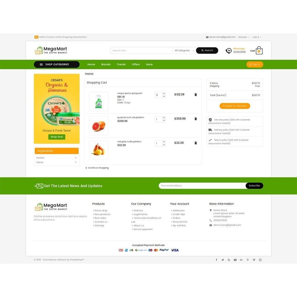 theme - Alimentos & Restaurantes - Mega Mart Grocery - 6