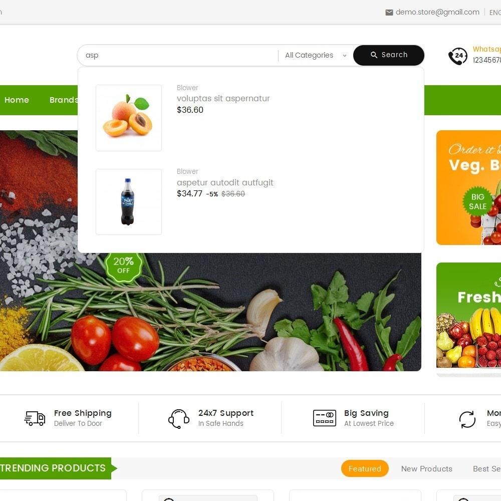 theme - Alimentos & Restaurantes - Mega Mart Grocery - 10
