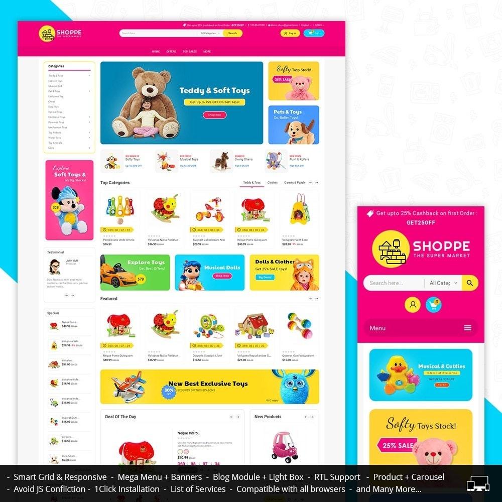 theme - Zabawki & Artykuły dziecięce - Mega Shoppe Kid Toys - 1