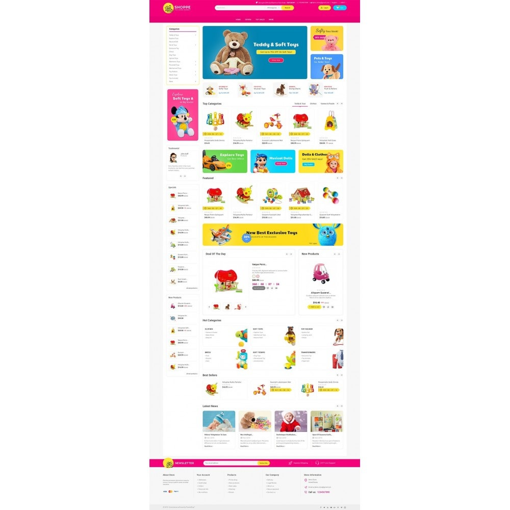 theme - Zabawki & Artykuły dziecięce - Mega Shoppe Kid Toys - 2