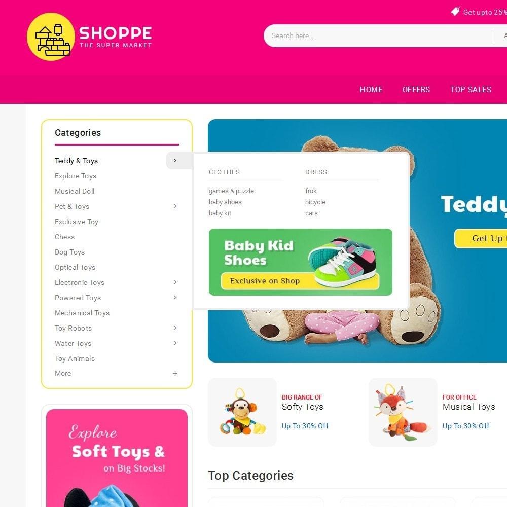 theme - Zabawki & Artykuły dziecięce - Mega Shoppe Kid Toys - 9