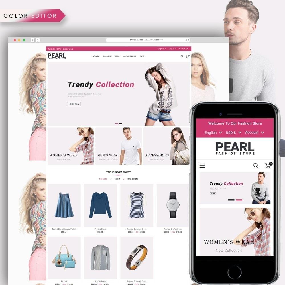 theme - Мода и обувь - Pearl Fashion - 1