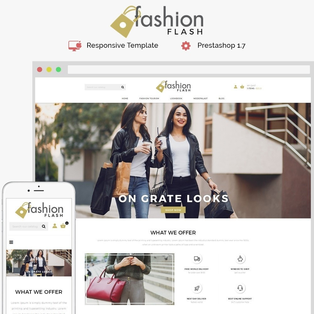 theme - Mode & Schuhe - Fashionflash Demo Store - 1