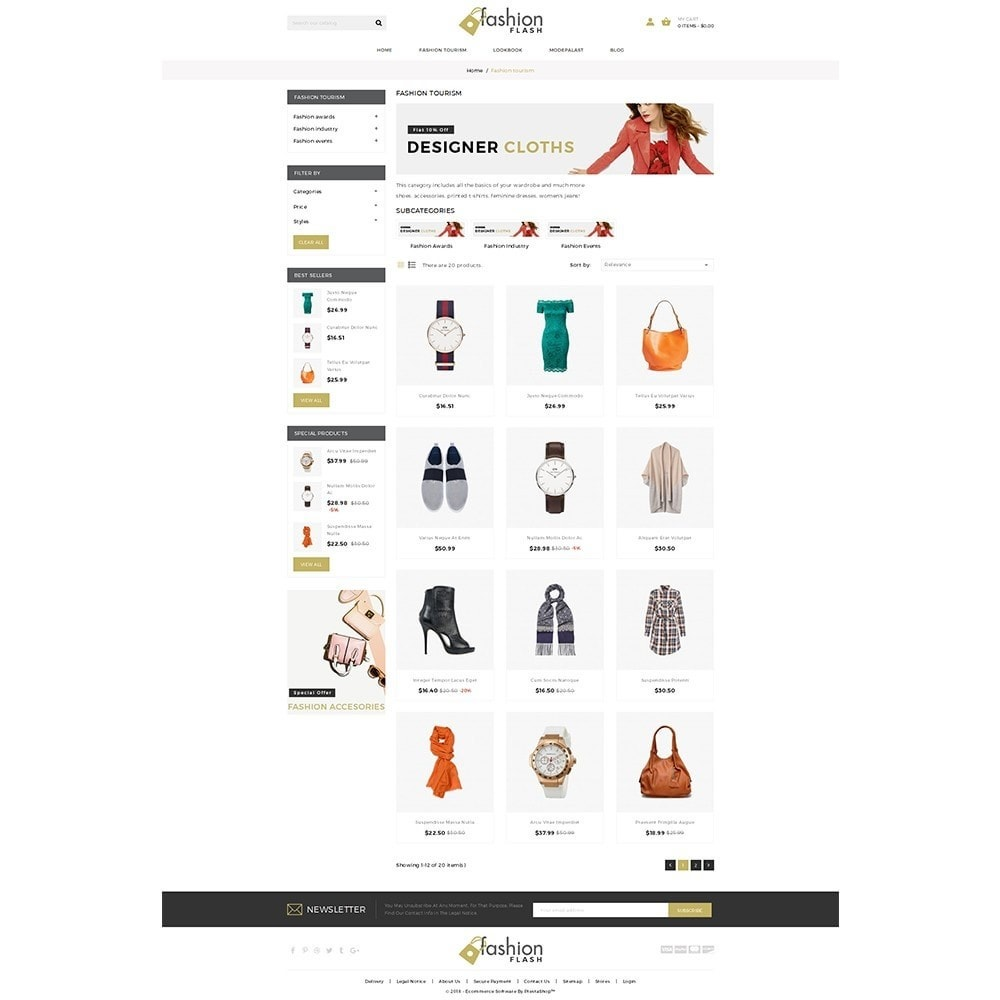 theme - Moda y Calzado - Fashionflash Demo Store - 3