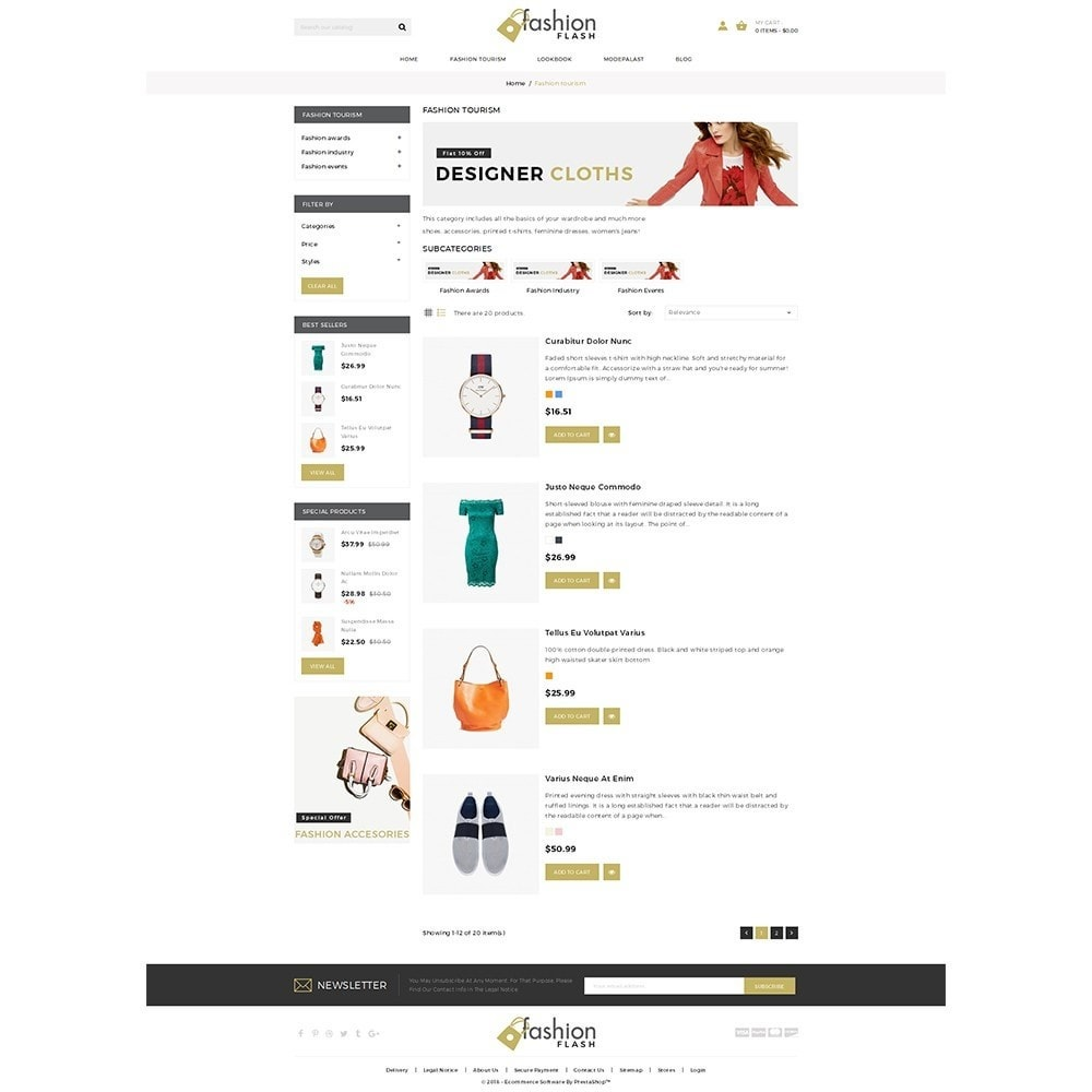 theme - Fashion & Shoes - Fashionflash Demo Store - 4