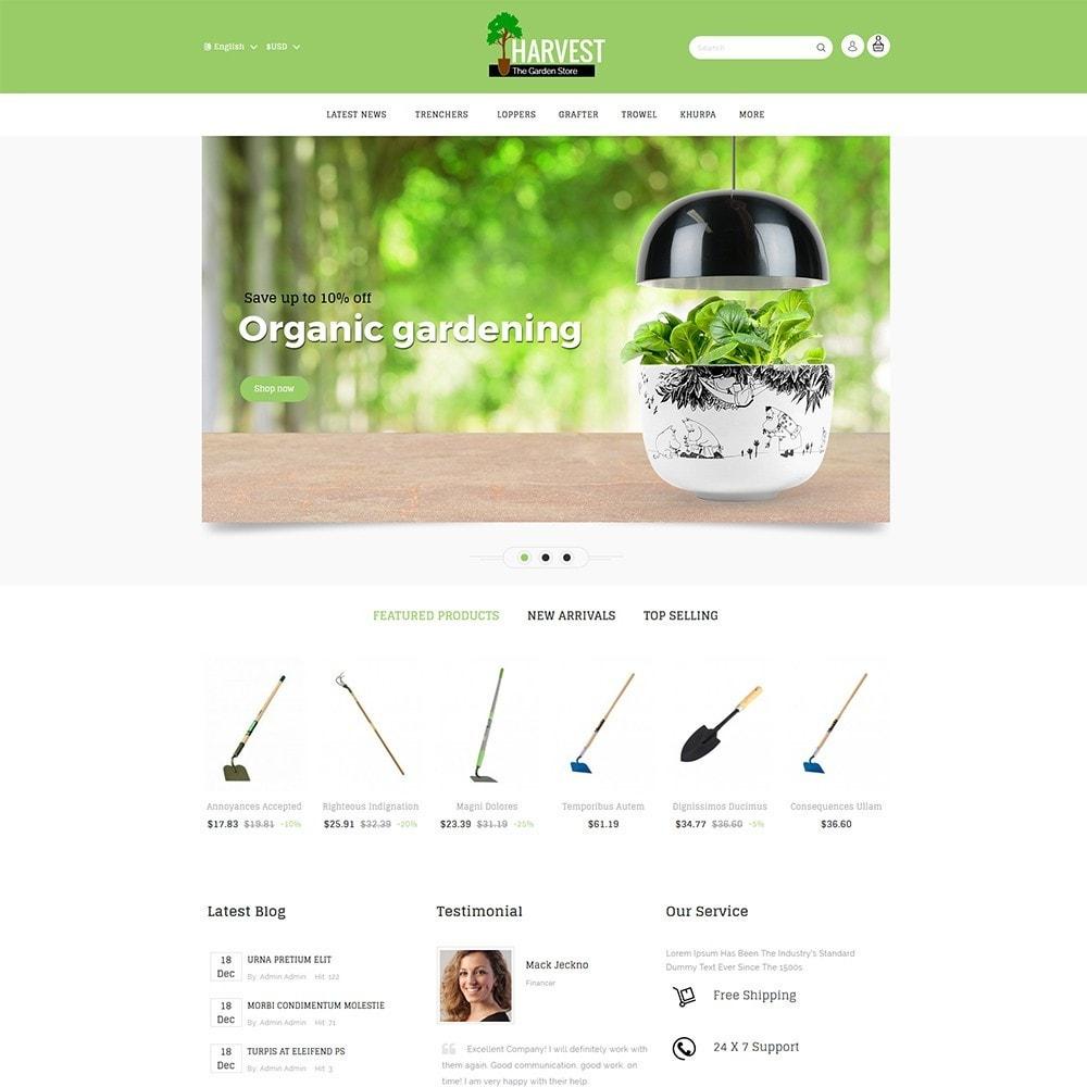theme - Casa & Giardino - Harvest Gardening Store - 2