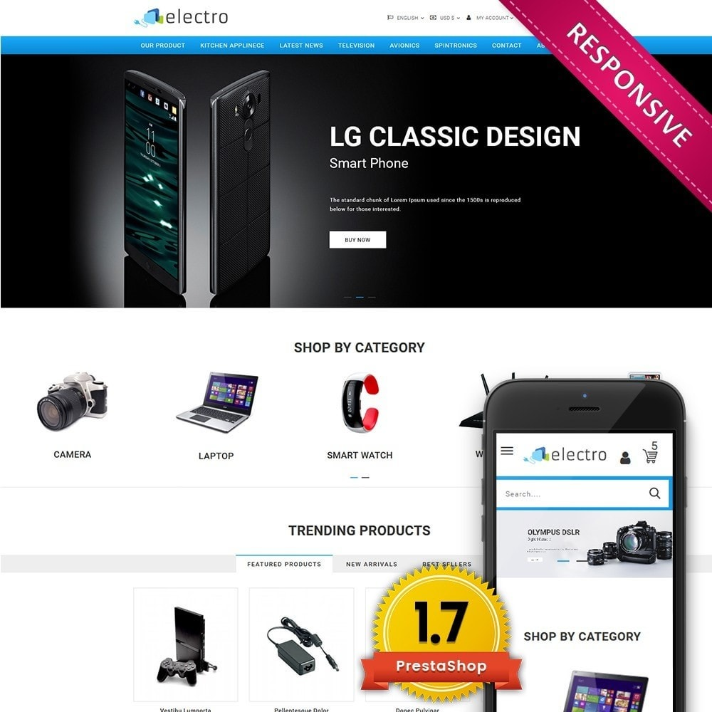 theme - Electronique & High Tech - Electro - Electronics Store - 1
