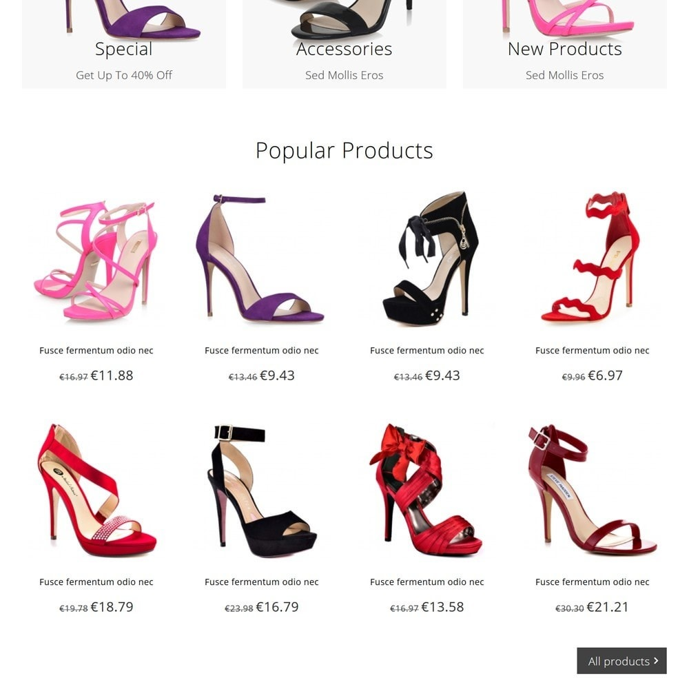 theme - Moda y Calzado - Shoez - 3