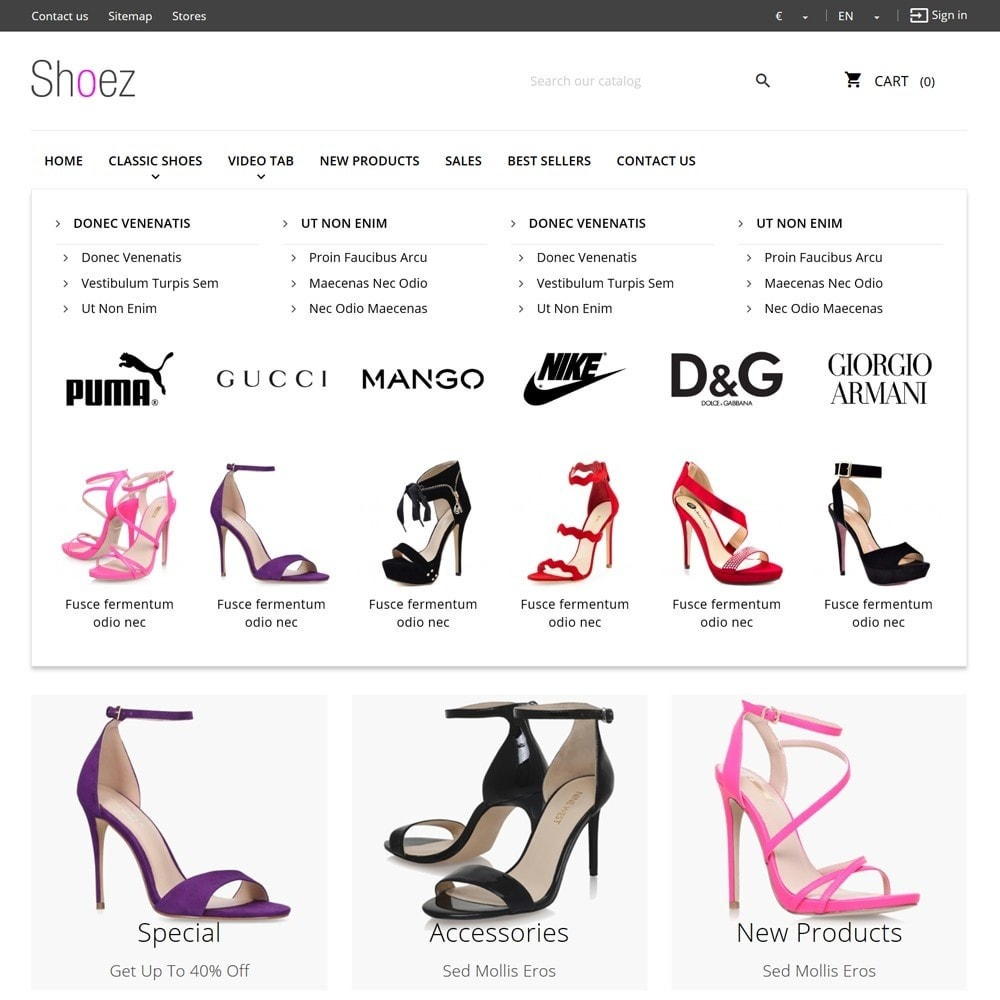 theme - Moda y Calzado - Shoez - 6